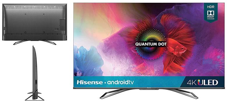 Hisense Class H9 Class H9 Quantum Series 4K Smart TV Under 1000 dollars