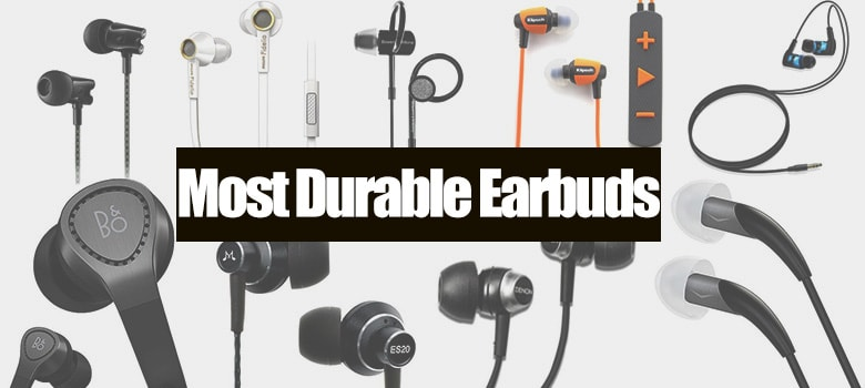 Most durable earbuds that are unbreakable and long-lasting In Ear Headphones...