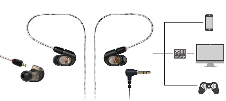 Audio-Technica-ATH-E70 In-Ear Headphones