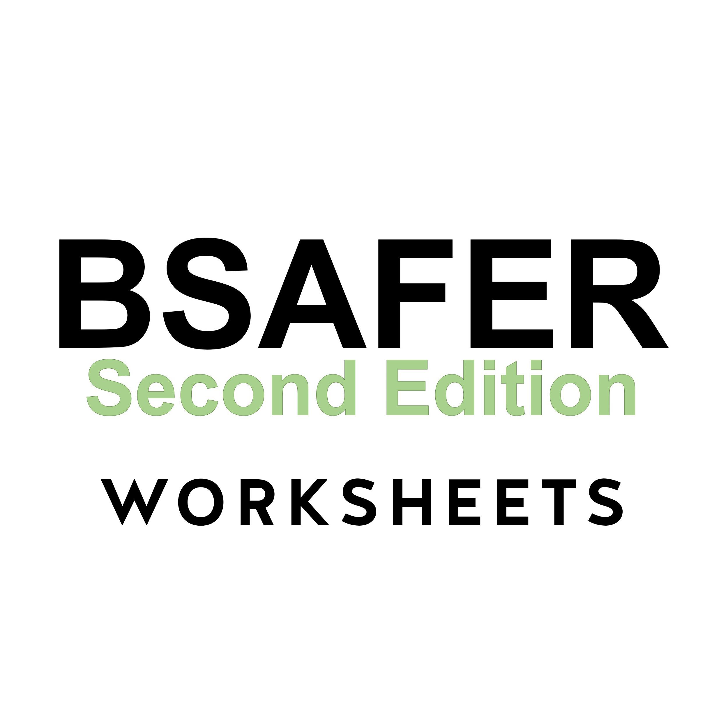 Brief Spousal Assault Form For The Evaluation Of Risk B Safer Worksheets 50pk