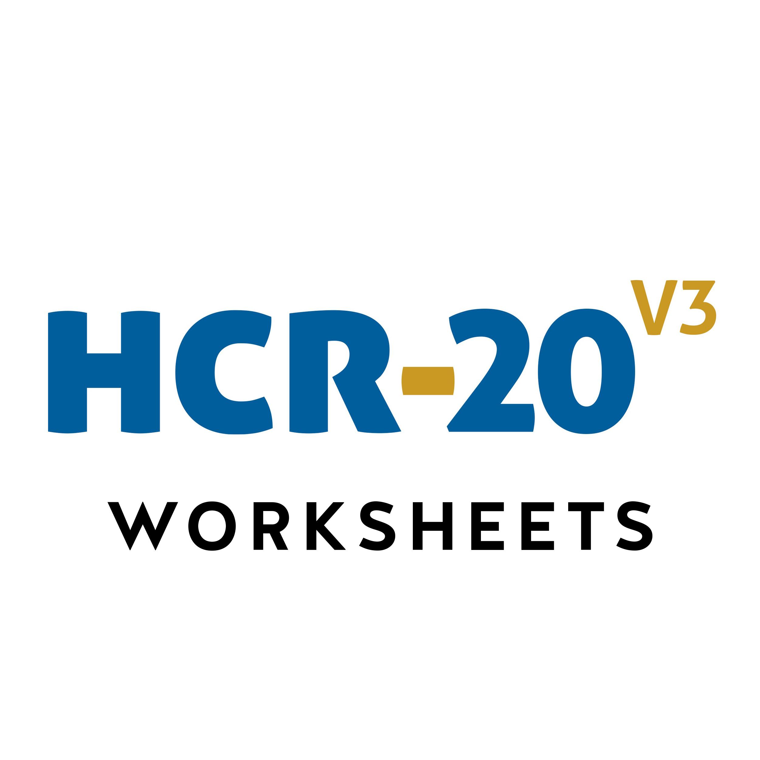 Historical Clinical Risk Management 20 Version 3 Hcr 20