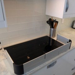 Quality Brand Kitchen Cabinets Diy Island On Wheels Qdos Stove Guard |in The | Montreal Safety Experts ...