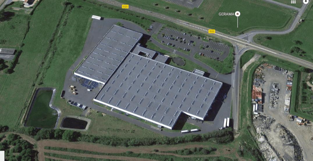 nettoyage façade usine