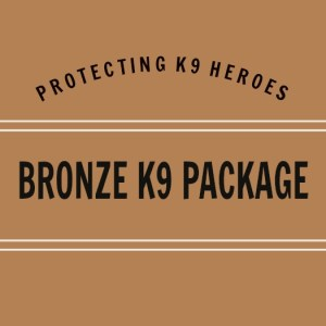 Donate a first aid or narcan kit to a K9 with this bronze package.