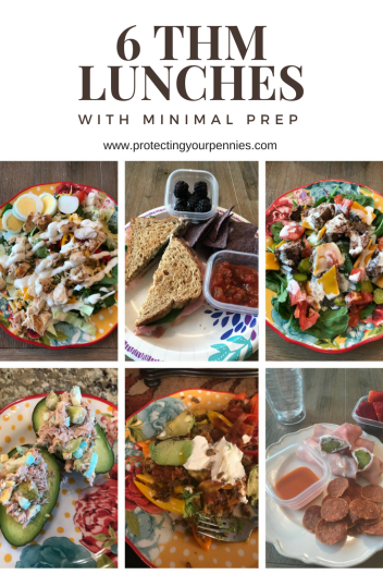 6 Trim Healthy Mama Lunches You can Take to Work