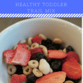 Red, White & Blue Healthy Toddler Trail Mix