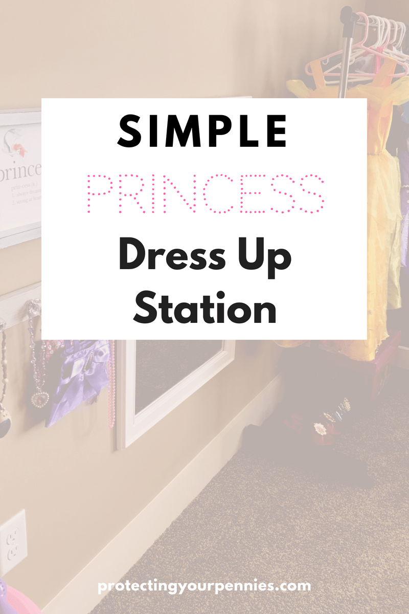 Simple Princess Dress Up Station
