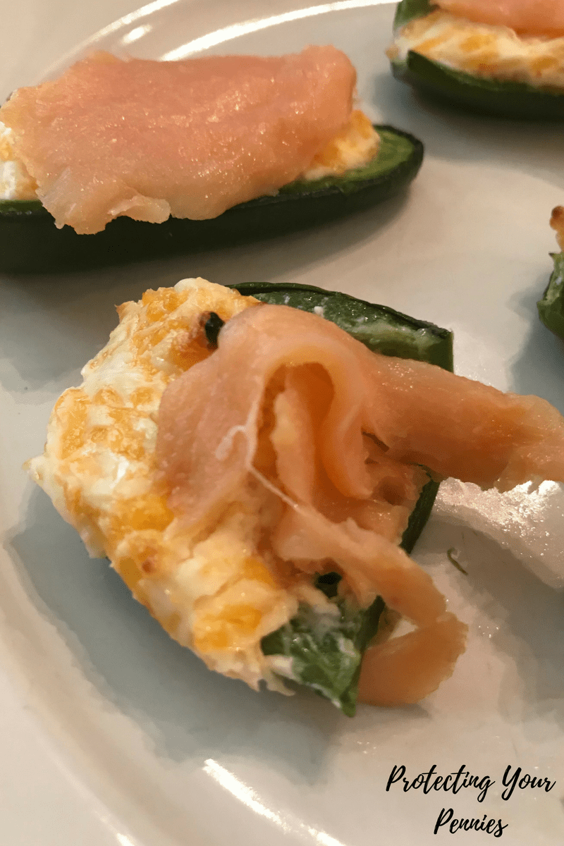Smoked Salmon Jalapeno Poppers