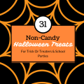 31 Non candy Halloween treats