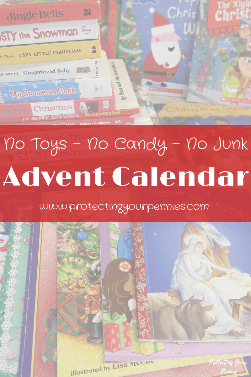 No Toys, No Junk, No candy Christmas Advent Calendar for Kids