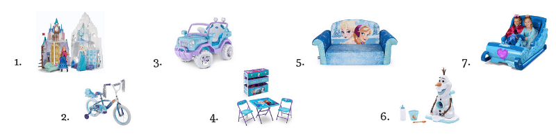 Ultimate Frozen Toys and Gifts
