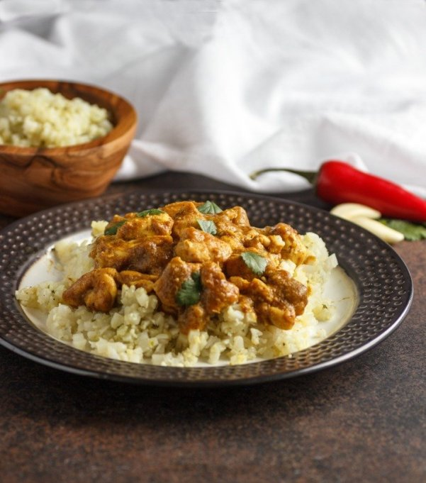Keto Chicken Korma - Beauty and the Foodie