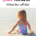 DIY Travel Beach First Aid Kit is a must when going to the ocean with young kids. Don't be at the ocean without these simple first aid items to keep kids happy and well.