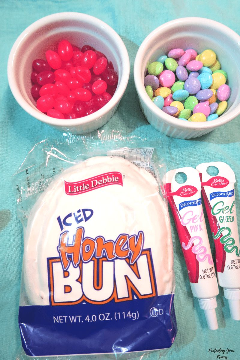 Iced Honey Bun Easter Decorating Supplies