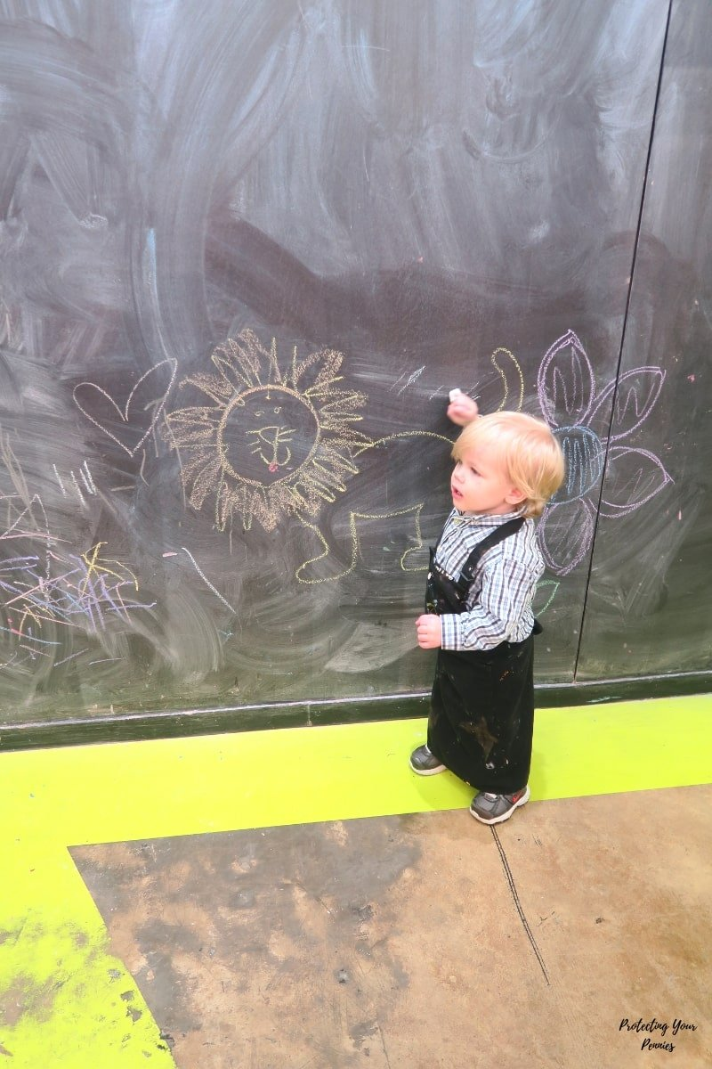 Large Chalkboard at Art Project Memphis