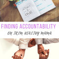 Finding Accountability on Trim Healthy Mama - For Moms