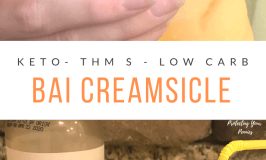 Keto Bai Creamsicle Drink for Trim Healthy Mama S Meal or Low Carb Diets