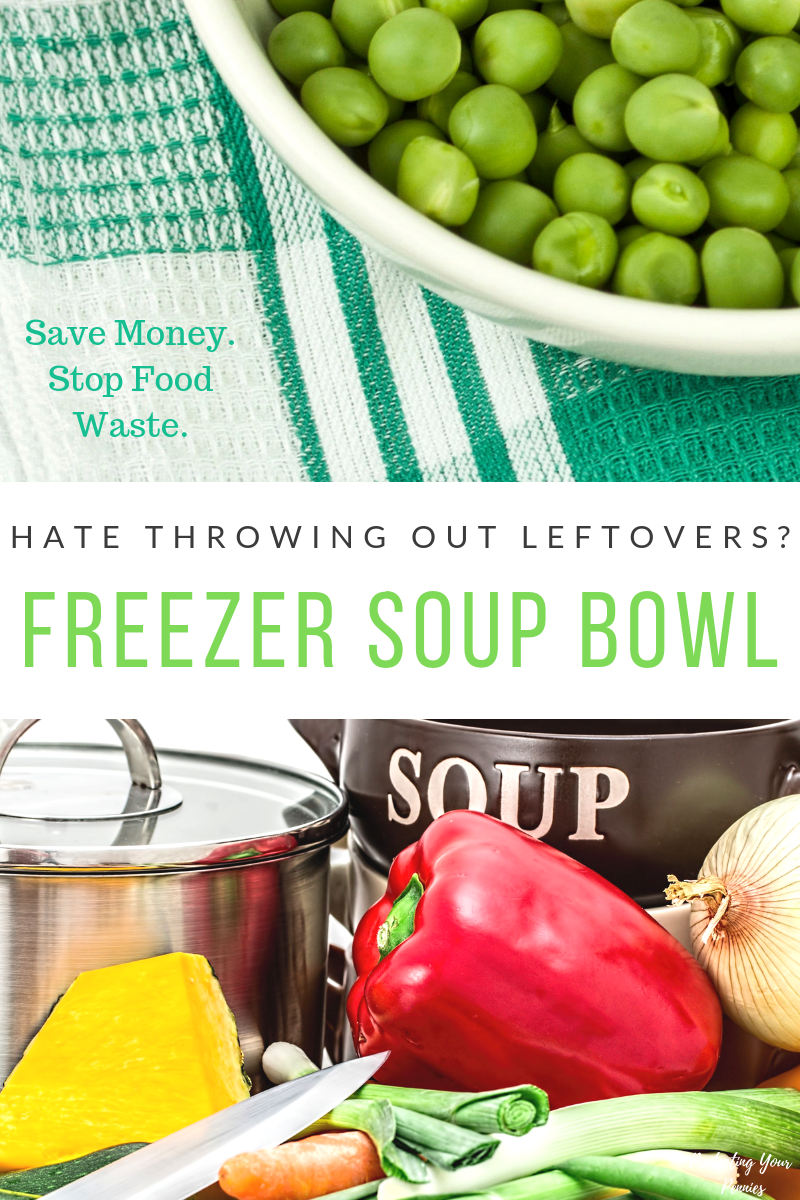 Leftover Freezer Soup Bowl - Stop Food Waste