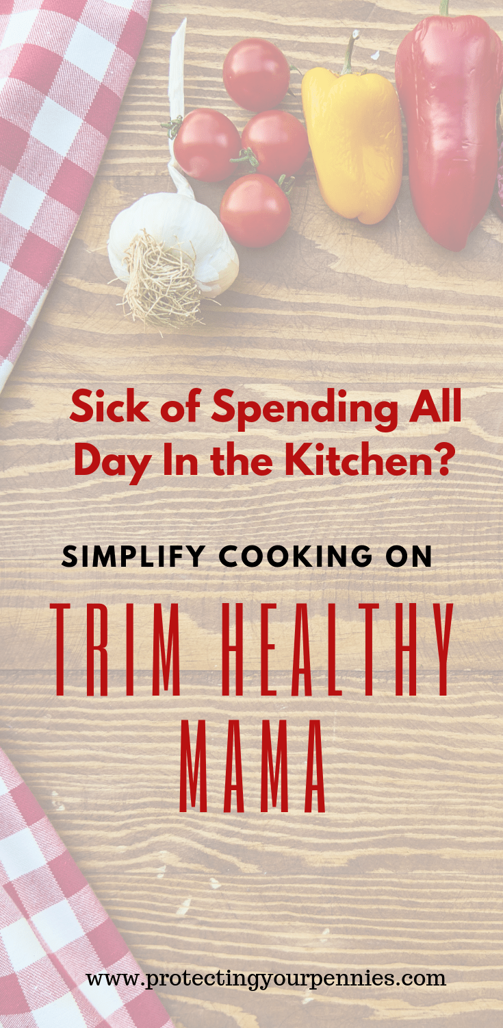 Cooking on Trim Healthy Mama made Easy