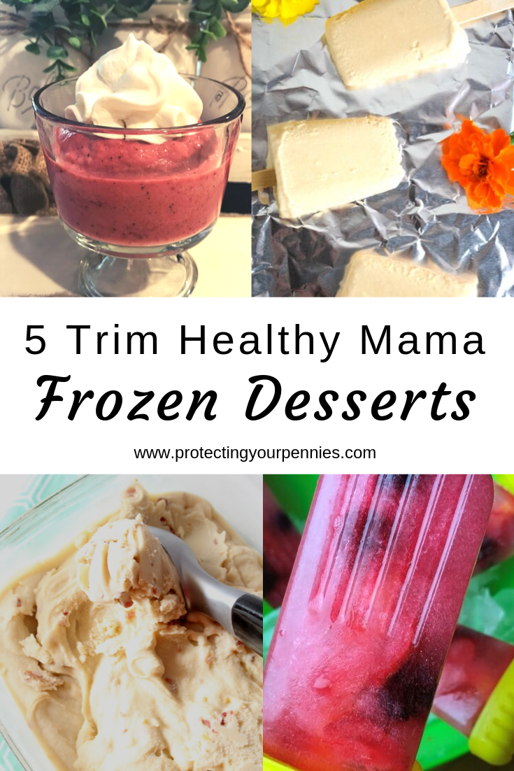 5 Trim Healthy Mama Ice Cream and Other Frozen Dessert Recipes
