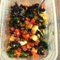 THM E Delicious Healthy Homemade Southwest Inspired Freezer Meal with Added Protein & Fiber