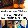 2019 Christmas gift idea for kids - Paw Patrol 6V Ride-on Toy - Chase, Skye or Marshall Options