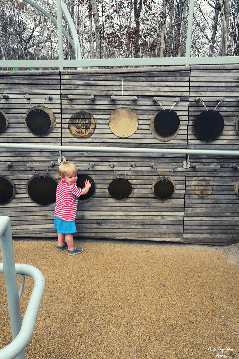 Music Wall At Shelby Farms Playground