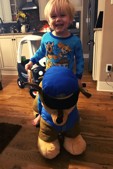 Paw Patrol Chase Plush Ride On Toy for Kids