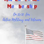 33% Discount on Amazon Prime for Active Military and Veterans this Veterans