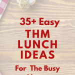 35 THM Lunch Ideas for the Busy Trim Healthy Mama