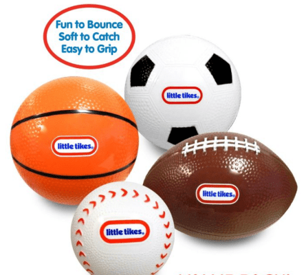 Little Tikes Punt and Pass Ball Set
