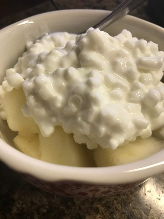 Cottage Cheese & Pear Bowl