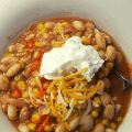 THM E Easy White Chicken Chili - Pantry Meal