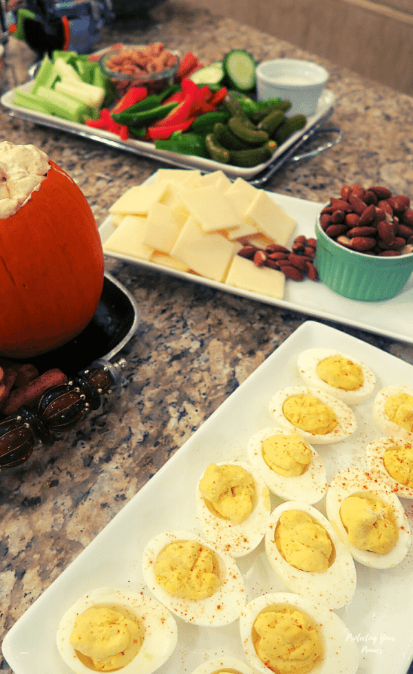 Deviled Eggs, Cheese Nuts & Charcuterie - S Meal