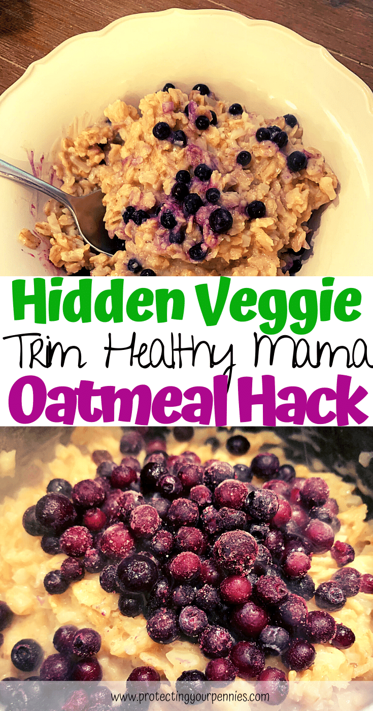 Hidden Veggie Trim Healthy Mama Oatmeal Hack