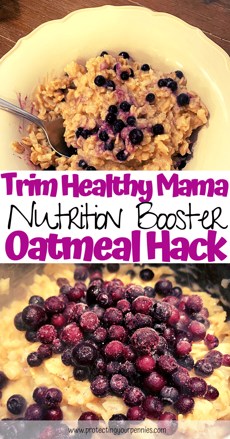 THM Nutrition Booster Oatmeal Hack