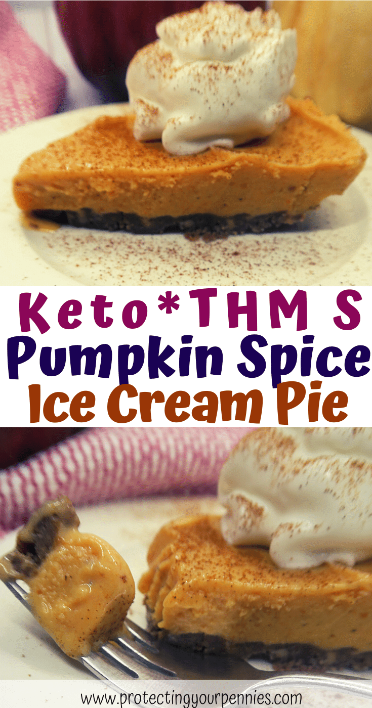 Keto THM S Pumpkin Spice Ice Cream Pie