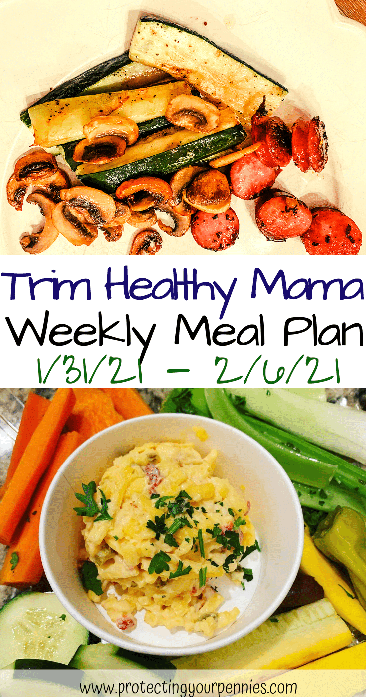 1_31_21 - 2_6_21 Trim Healthy Mama Meal Plan