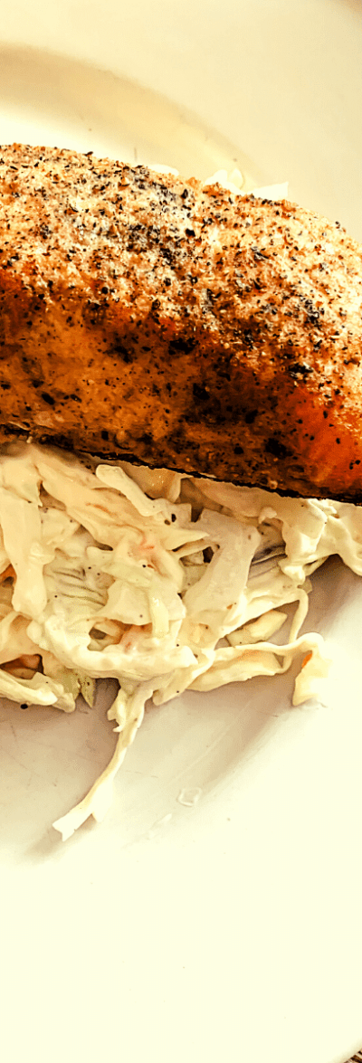 Smoked Lemon Pepper Salmon & Coleslaw - S