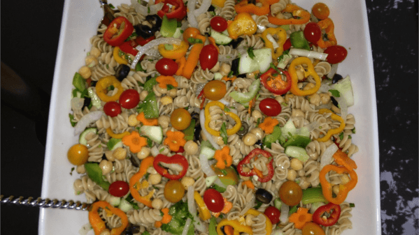 Garden Party Pasta Salad Free Pd Recipe - Protective Diet