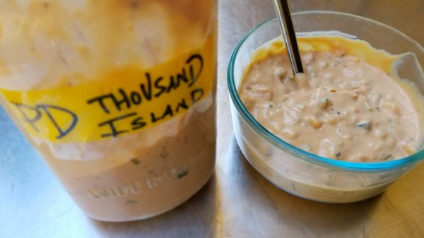 Thousand Island Dressing Premium PD Recipe Protective Diet