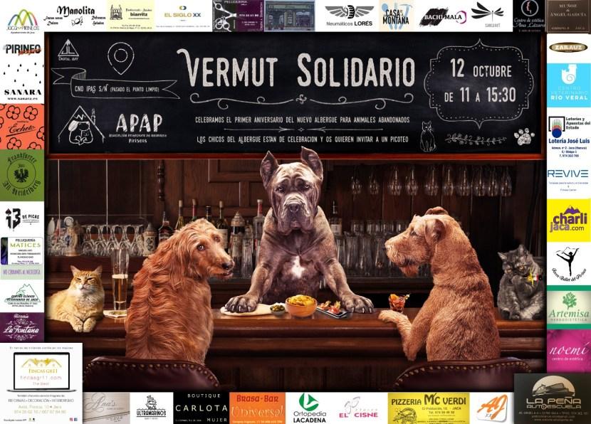 1º ANIVERSARIO CARTEL VERMUT SOLIDARIO OCTUBRE 2019