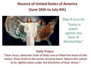 Novena of USA Day 4