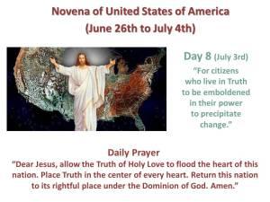 Novena of USA Day 8