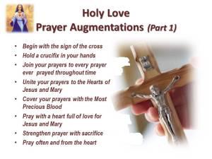 Prayer Augmentations Part 1 Begin