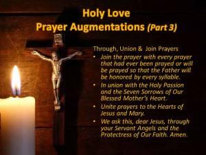 Prayer Augmentations Part 3 Union