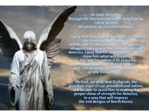 Zechariah Samuel Angels Prayer about North Korea Kim Thames Version