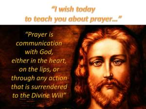 Teach You About Prayer 1.02