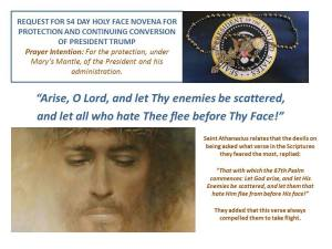Before Thy Holy Face