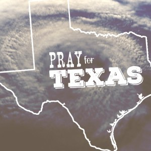 Pray for Texas Image Grey